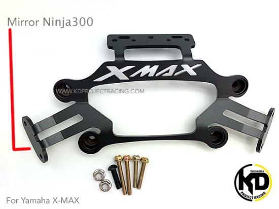 ヤマハ XMAX ミラー移設キット Ninja250ミラー用 4967