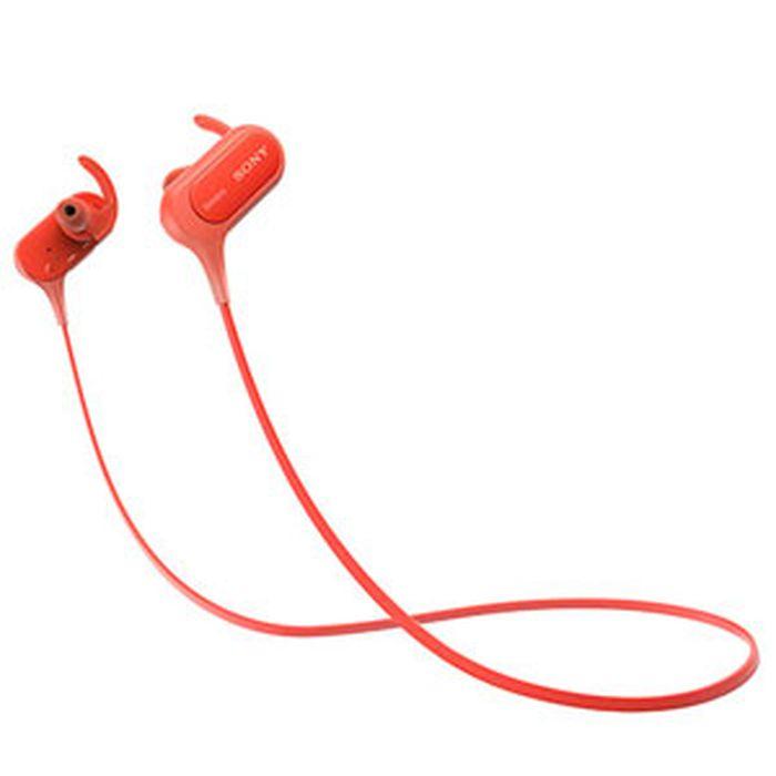 ソニー Bluetooth搭載ダイナミック密閉型カナルイヤホンMDR-XB50BS-R