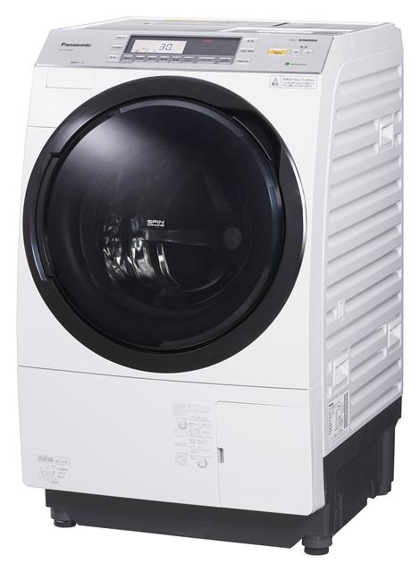 パナソニック ななめドラム洗濯乾燥機 NA-VX7800L-W 左開き←
