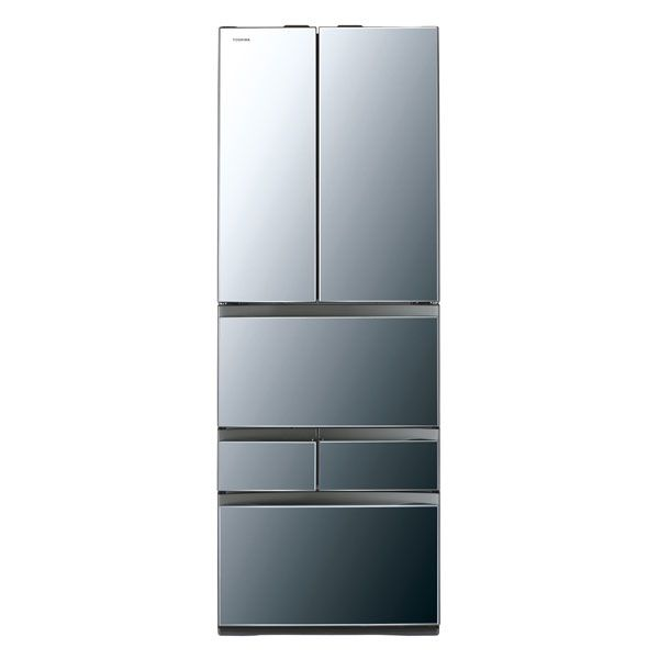 基本設置無料 東芝 べジータ 462L 6ドア冷蔵庫 GR-M460FWX-X 質量 113kg