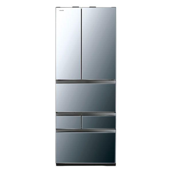 基本設置無料 東芝 べジータ 601L 6ドア冷蔵庫 GR-M600FWX-X 質量 125kg