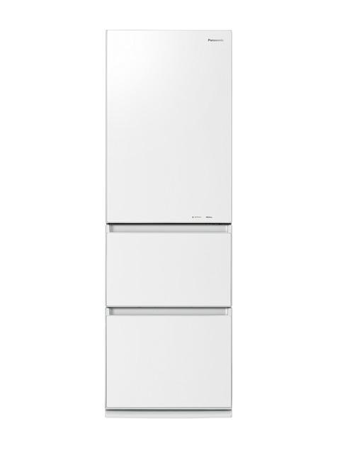 【標準設置無料】 パナソニック 365L ノンフロン冷凍冷蔵庫 左開き→ NR-C37HGML-W
