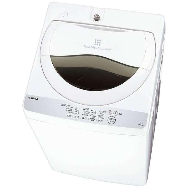 東芝 5.0kg 全自動洗濯機 AW-5G6-W
