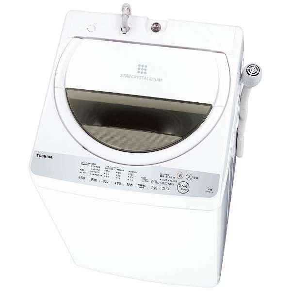 東芝 7.0kg 全自動洗濯機 AW-7G6-W