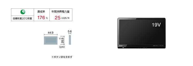 三菱 カンタンサイネージ DSM-19L8-SL