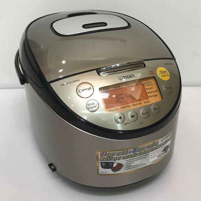 TIGER虎牌 JKT-S18W【容量1.8L升 電圧AC:220V伏 炊飯器 IH電飯鍋RiceCookers 海外仕様overseas Model】