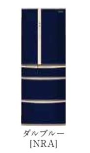 パナソニック 18年度モデル NR-J41ML-NRA ダルブルー【ボディカラー:ライトベージュ<Nシリーズ>コーディネイト冷蔵庫406L】納期約1ヶ月 ←左開き 設置無料