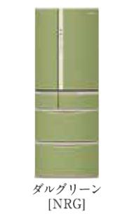 パナソニック 18年度モデル NR-J50MC-NRG ダルグリーン【ボディーカラー:ライトベージュ<Nシリーズ>コーディネート冷蔵庫501L】納期約1ヶ月 設置無料