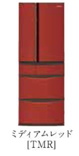 パナソニック 18年度モデル NR-J41ML-TMR ミディアムレッド【ボディカラー:ブラウン<Tシリーズ>コーディネイト冷蔵庫406L】納期約1ヶ月 ←左開き 設置無料