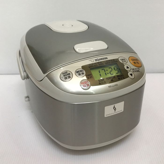 海外向け炊飯器 象印・3合炊き海外仕様炊飯器 NS-LLH05-XA 【220仕様】 rice cooker