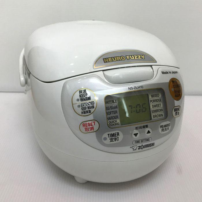 海外向け炊飯器 象印 NS-ZLH10-WZ 【220仕様】 5合炊き rice cooker