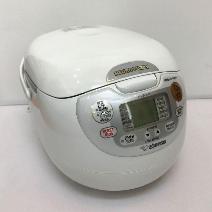 海外向け炊飯器 象印 NS-ZLH18-WZ 【220仕様】 1升炊き rice cooker