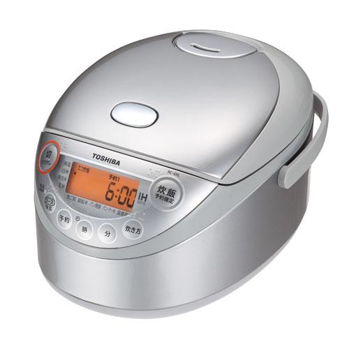 東芝 3.5合炊き備長炭鍛造かまど釜 IHジャー炊飯器 RC-6XL-S