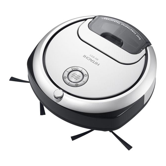日立 ロボット掃除機minimaru(ミニマル) RV-EX1-W
