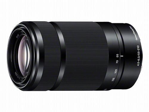 ソニー E 55-210mm F4.5-6.3 OSS SEL55210-B【デジタル一眼カメラα[Eマウント]用レンズ】