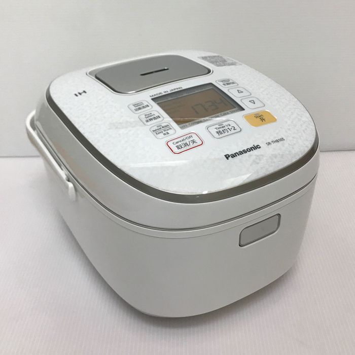 松下牌Panasonic SR-THB105-W 【容量1.0L 電圧AC:220V伏 炊飯器 IH電飯鍋RiceCookers 海外仕様overseas Model】