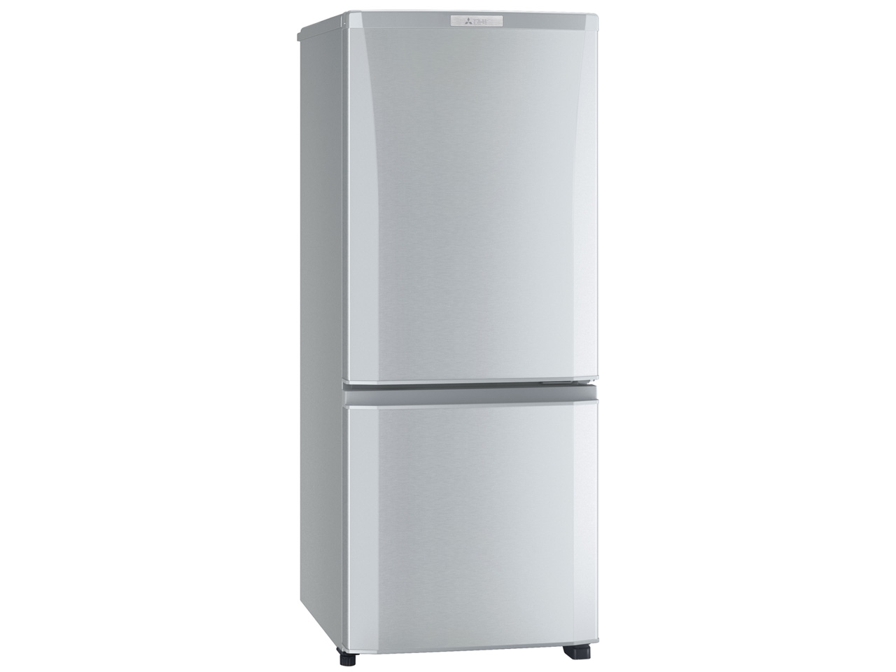 三菱 146L 2ドア冷蔵庫 MR-P15C-S 質量:38kg