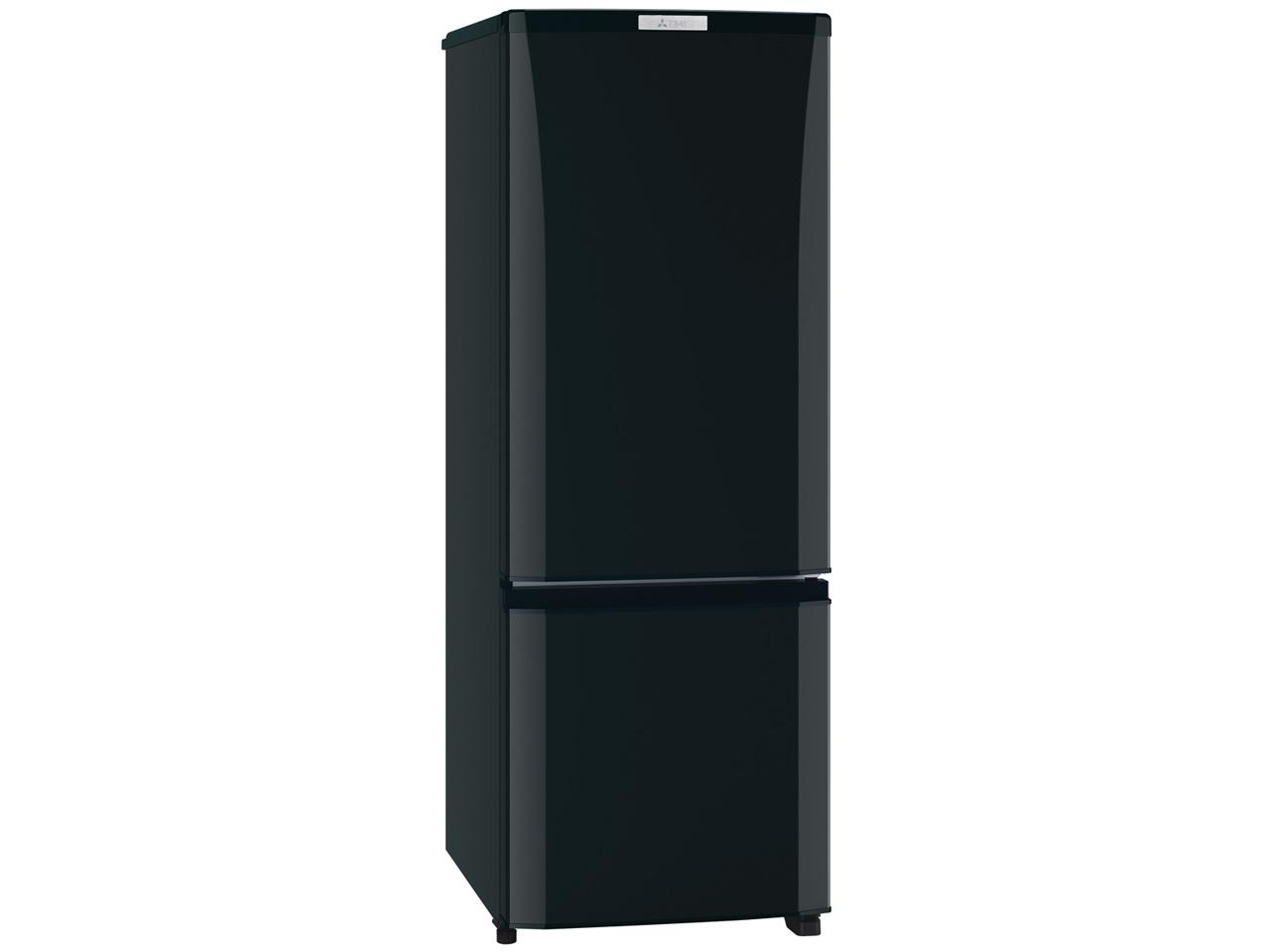 三菱 168L 2ドア冷蔵庫 MR-P17C-B 質量:41kg
