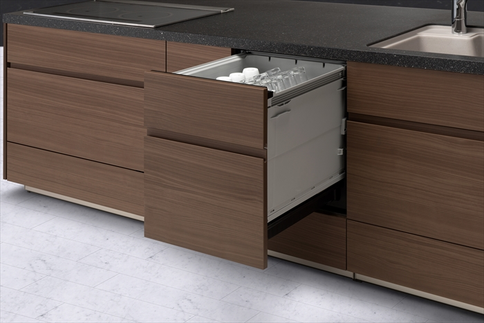 パナソニック ディープタイプ Kシリーズ 幅45cmタイプ ビルトイン食器洗い乾燥機 NP-45KD8A