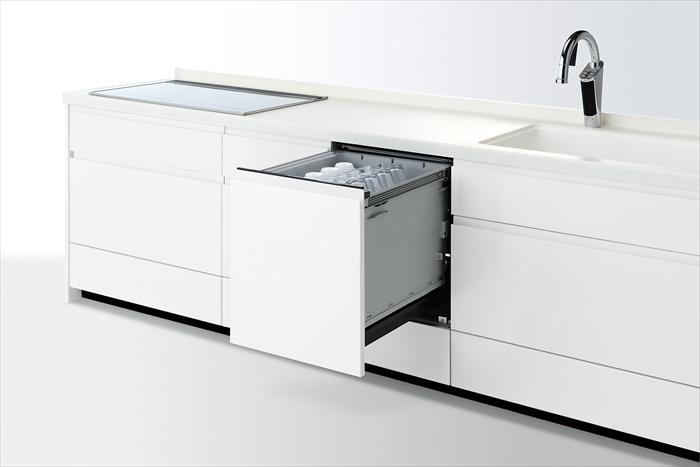 パナソニック ディープタイプ Kシリーズ 幅45cmタイプ ビルトイン食器洗い乾燥機 NP-45KD8W