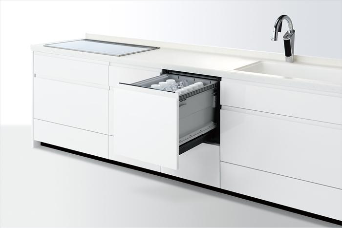 パナソニック ミドルタイプ Kシリーズ 幅45cmタイプ ビルトイン食器洗い乾燥機 NP-45KS8W