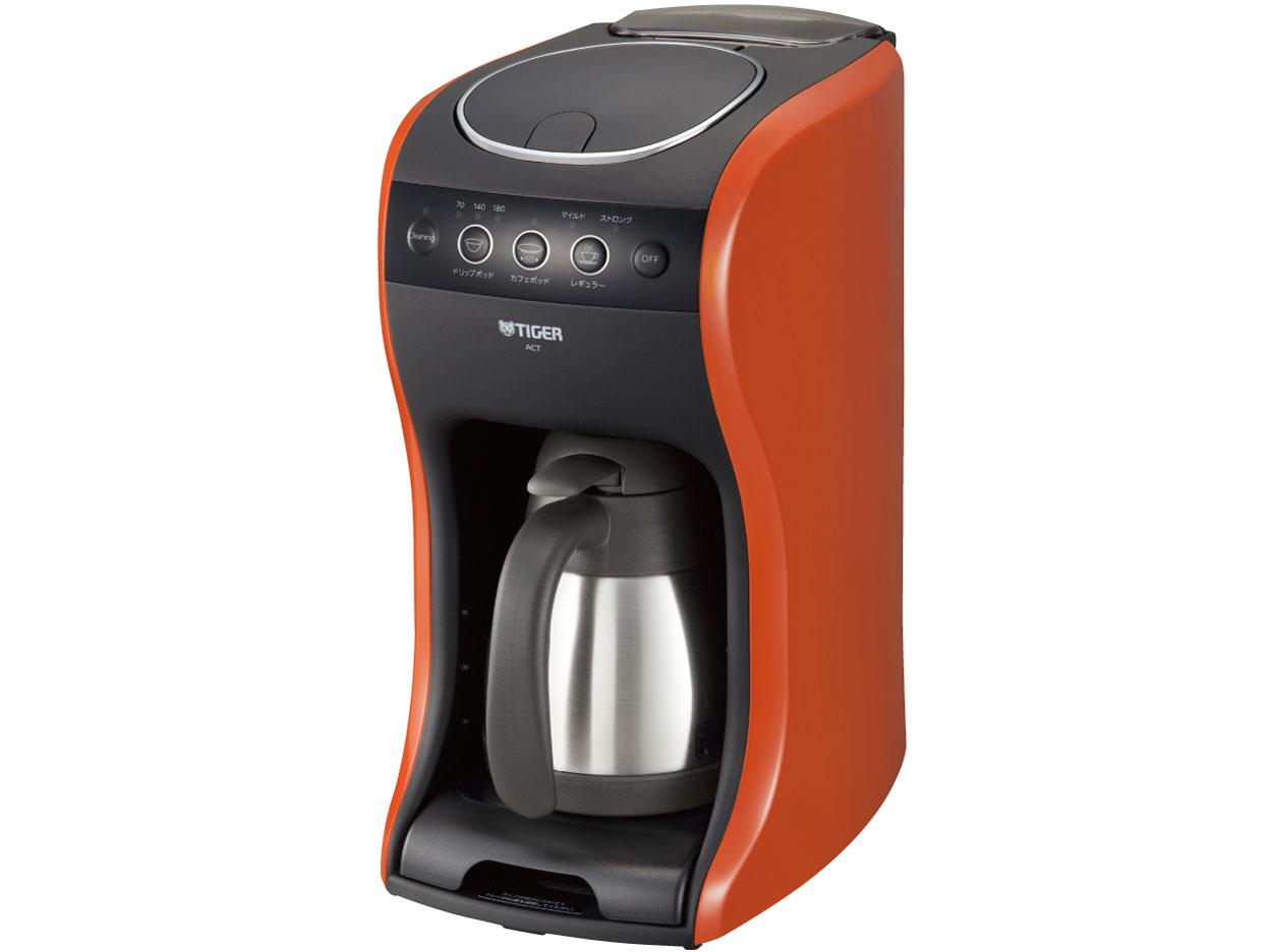 タイガー コーヒーメーカー 「カフェバリエ」 バーミリオンACT-B040-DV