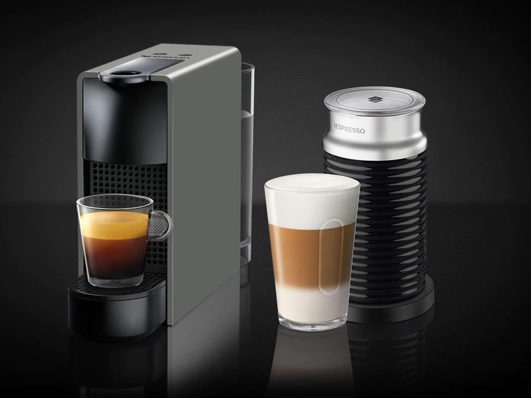 ネスプレッソ専用カプセル式コーヒーメーカー 「エッセンサ・ミニ」 バンドルセットC30GR-A3B