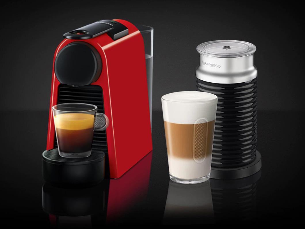 ネスプレッソ専用カプセル式コーヒーメーカー 「エッセンサ・ミニ」 バンドルセットD30RE-A3B