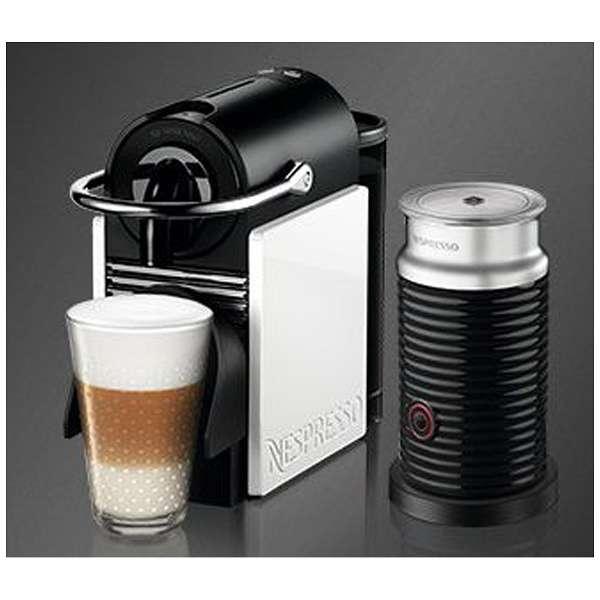 ネスプレッソコーヒーメーカー 「ピクシークリップ」バンドルセットD60WRA3B
