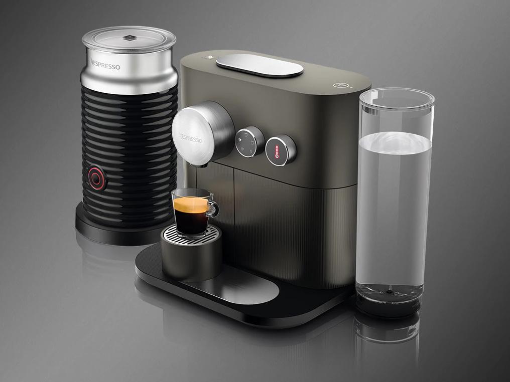 ネスプレッソ 専用カプセル式コーヒーメーカー 「エキスパート」 バンドルセットD80GR-A3B