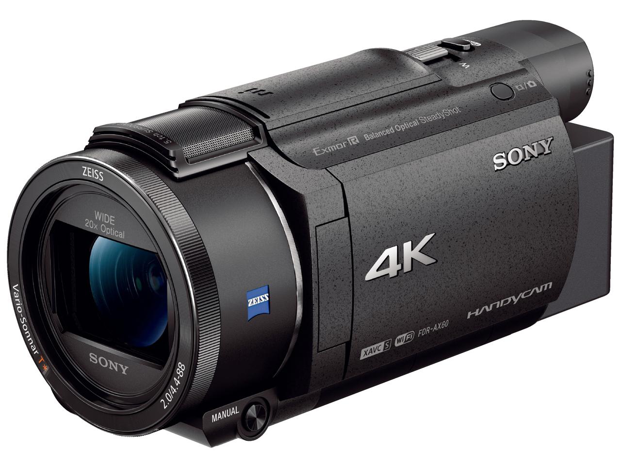 ソニー デジタル4Kビデオカメラ FDR-AX60