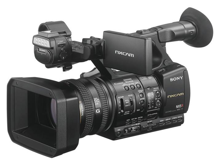 ソニー NXCAMカムコーダー HXR-NX5R