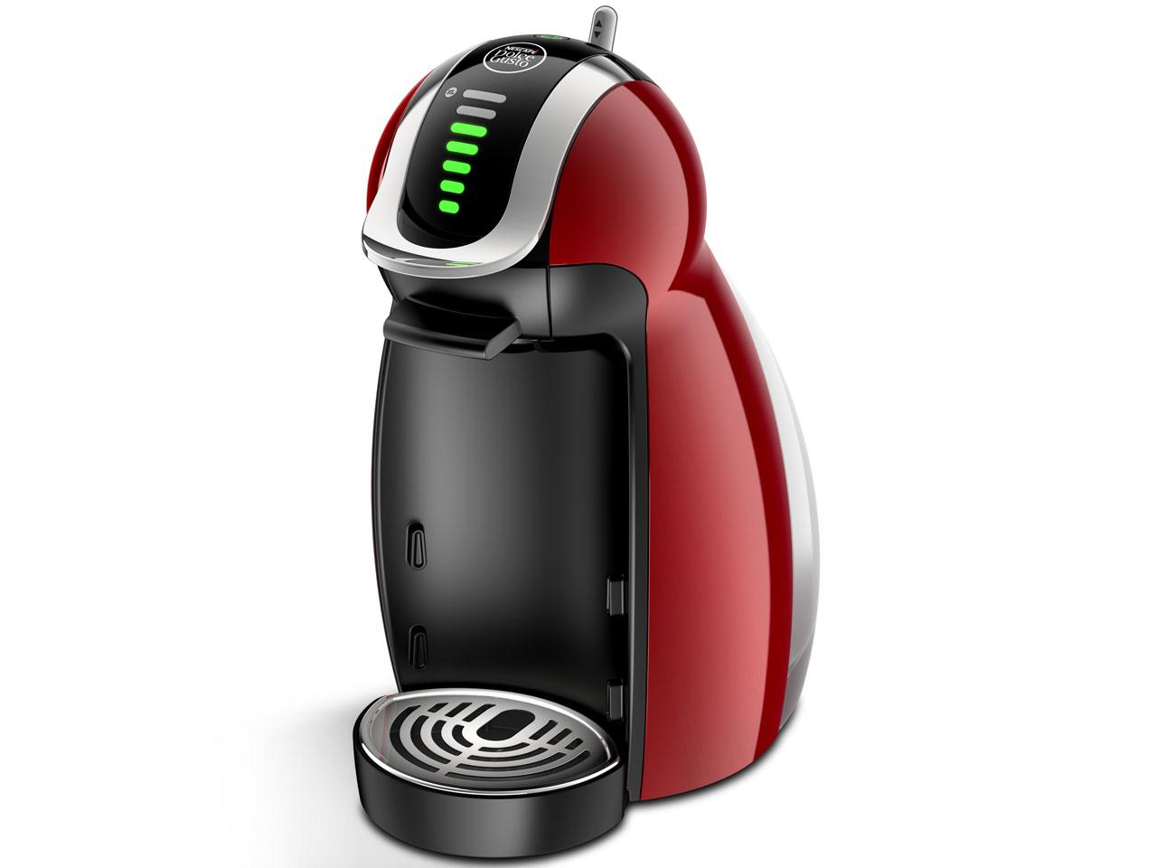 ネスプレッソ専用カプセル式コーヒーメーカー 「ドルチェグスト・ジェニオ2・プレミアム」MD9771WR