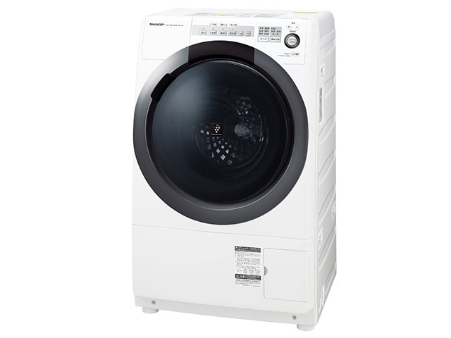 シャープ 7.0kg ドラム式洗濯乾燥機 ES-S7C-WR【右開き→】
