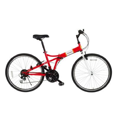 ミムゴ MG-RN2618 RENAULT FDB26 18S 折り畳み自転車 [メーカー在庫限り]