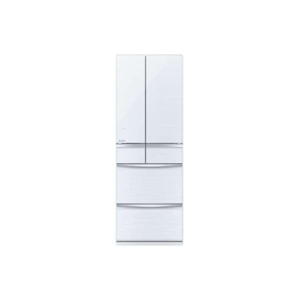基本設置無料 三菱電機 置けるスマート大容量MXシリーズ 572L 6ドア冷蔵庫 MR-MX57D-W 重量113kg