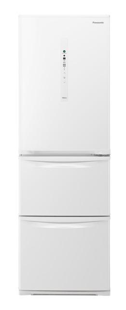 【標準設置無料】 パナソニック 365L ノンフロン冷凍冷蔵庫 NR-C37HCL-W左開き←