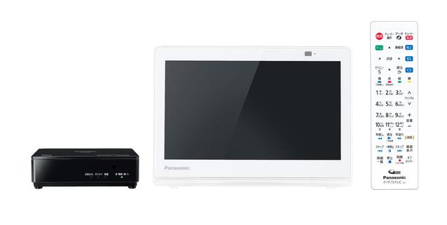 パナソニック ポータブル地上・BS・110度CSデジタルテレビUN-10E8-W