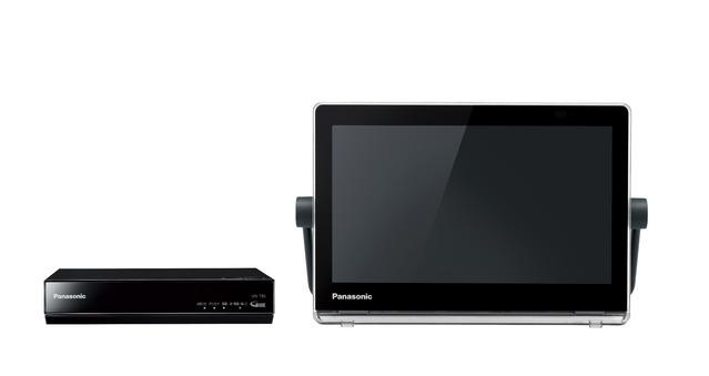 パナソニック HDDレコーダー付ポータブル地上・BS・110度CSデジタルテレビUN-10T8-K