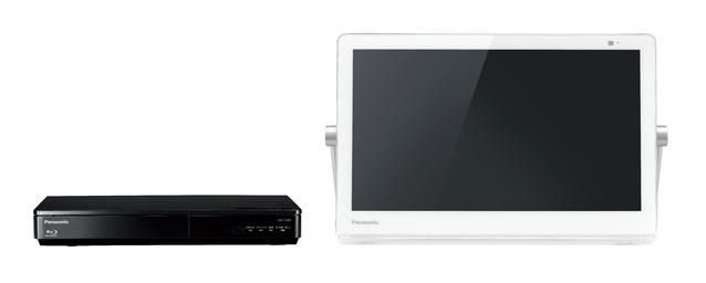 パナソニック ブルーレイディスクプレーヤー/HDDレコーダー付ポータブル地上・BS・110度CSデジタルテレビUN-15TD8-W