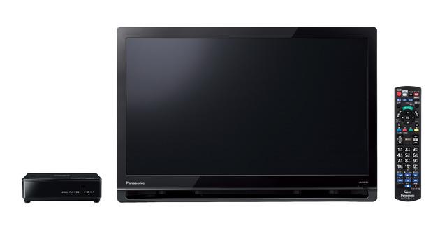 パナソニック ポータブル地上・BS・110度CSデジタルテレビUN-19F8-K