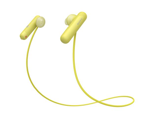 ソニー Bluetooth対応ダイナミックオープン型カナルイヤホン WI-SP500 Y