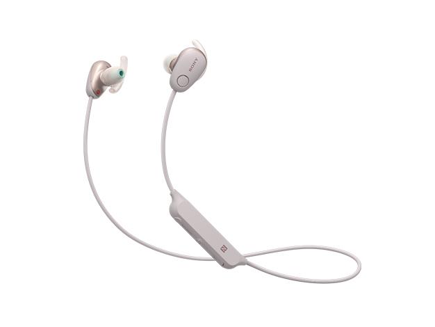 ソニー ノイズキャンセリング機能搭載Bluetooth対応ダイナミック密閉型カナルイヤホン WI-SP600N P