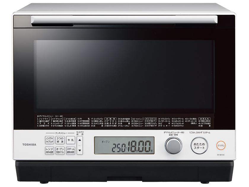 東芝 石窯ドーム スチームオーブンレンジER-SD100-W