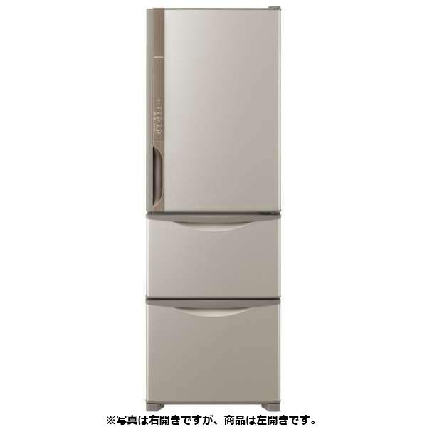 基本設置無料 日立 315L 3ドア冷蔵【←左開き】 R-K32JVL-T 質量 61kg
