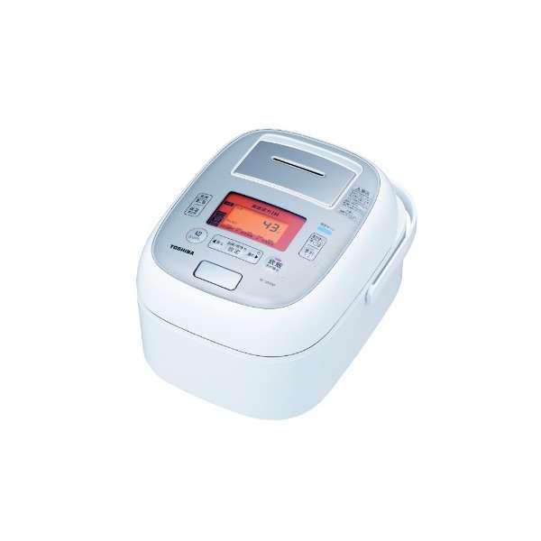 東芝 5.5合炊き 真空圧力IHジャー炊飯器 RC-10VXM-W