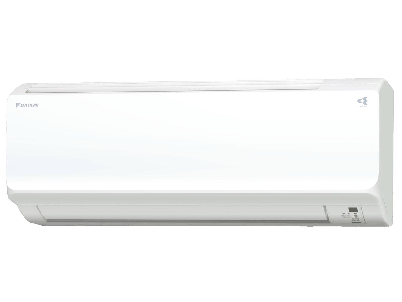 ダイキン 18年モデル CXシリーズ S25VTCXS-W 【100V用】8畳用冷暖房除湿エアコン