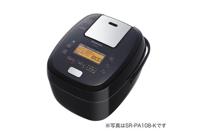 パナソニック 1升炊きスチーム&可変圧力IHジャー炊飯器 SR-PA188-K