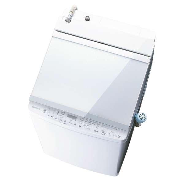 標準設置無料 東芝 ZABOON 10.0kg 洗濯乾燥機 AW-10SV7-W