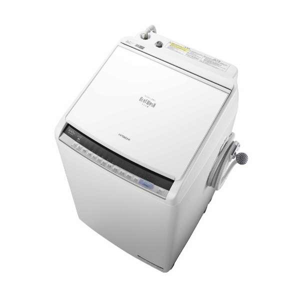 日立 8.0kg 洗濯乾燥機 BW-DV80C-W